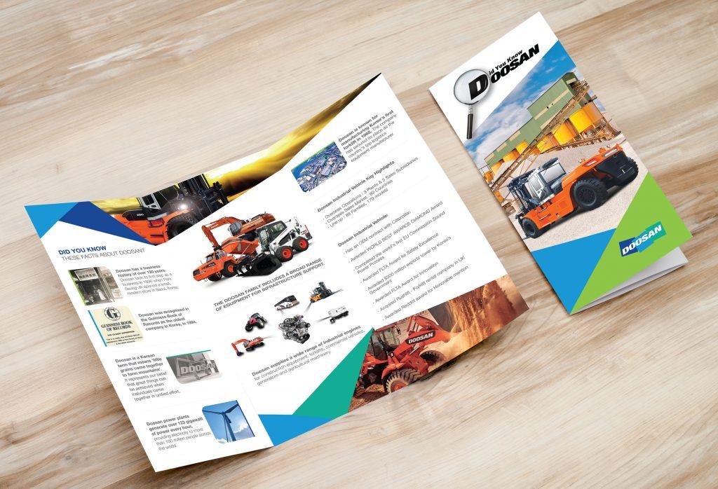 Doosan Trifold Brochure